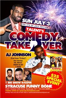 Talent's Comedy Takeover w/ AJ Johnson