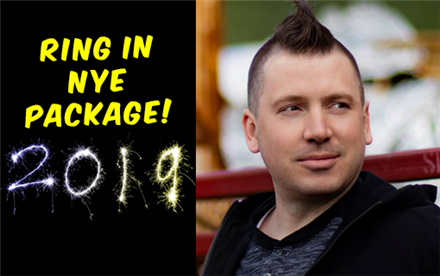 NYE Ring in the New Year Package w/ Dave Landau
