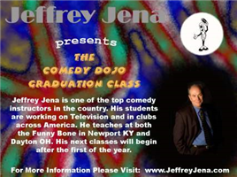 Jeffrey Jena Presents The Comedy Dojo Graduation Show