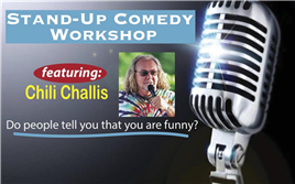 Comedy Dojo Workshop w/ Chili Challis