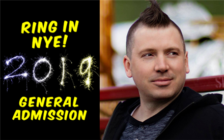 NYE Ring in the New Year General Admission w/ Dave Landau