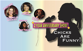 Chicks Are Funny - June 2015 Anniversary Show!