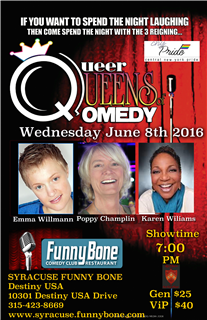 Queer Queens of Qomedy w/ Poppy Champlin & Suzanne Westenhoefer