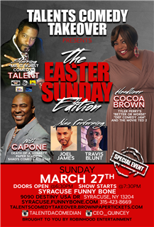 Talents Comedy Takeover Easter Edition