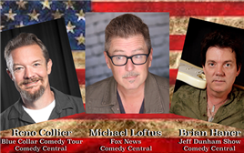 Freedom to Laugh Comedy Tour General Admission